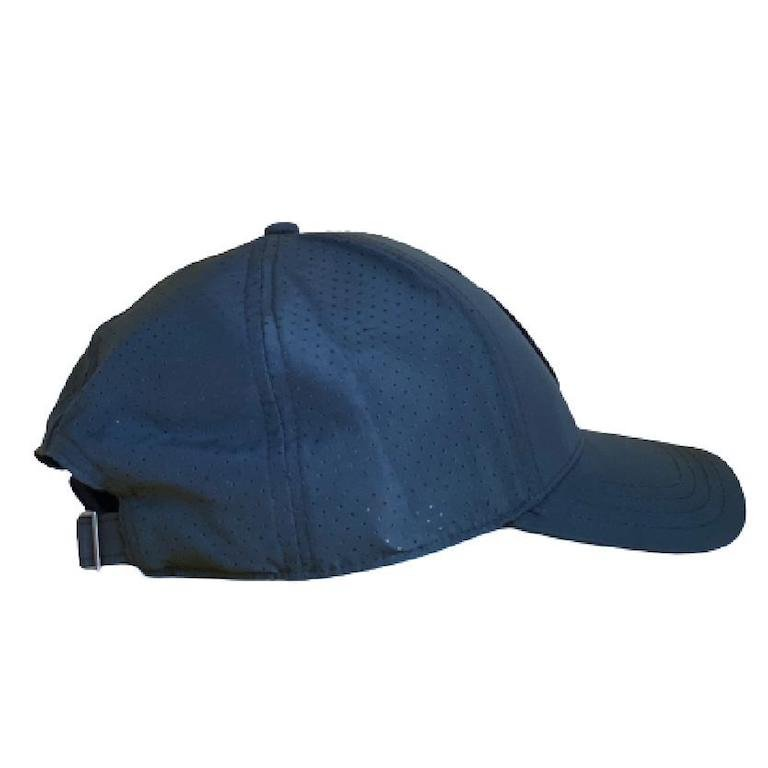 Navy Mesh Hat Side View