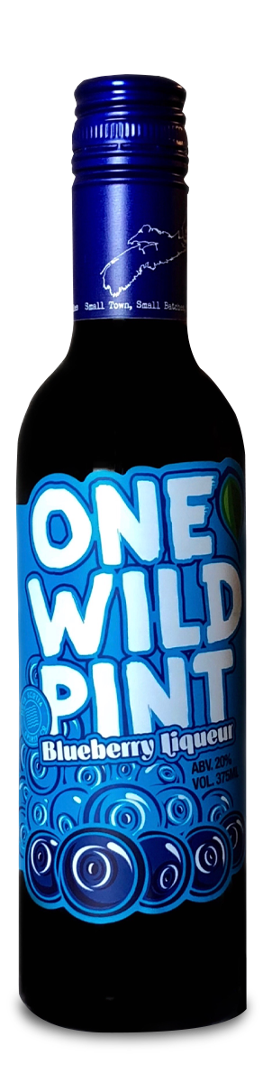 Our Products: One Wild Pint Blueberry Liqueur by Nova Scotia Spirit Co.