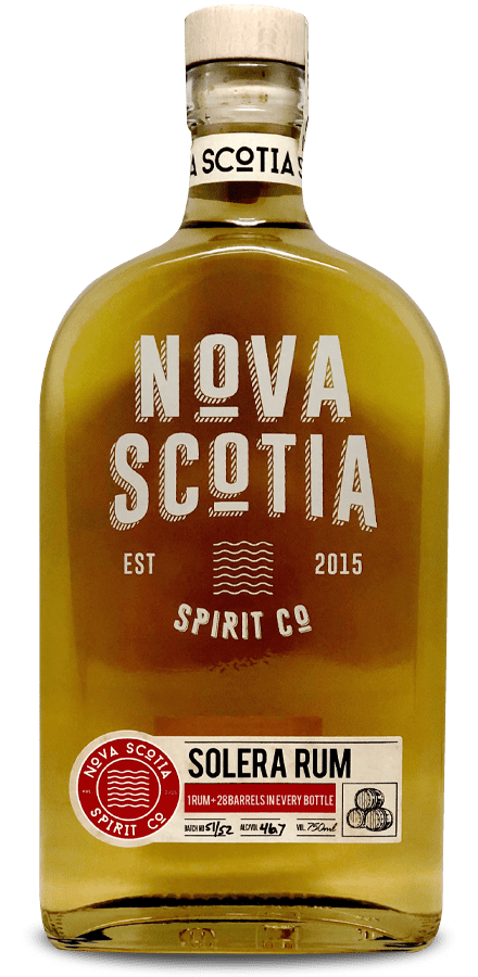 Our Products: Solera Rum by Nova Scotia Spirit Co.