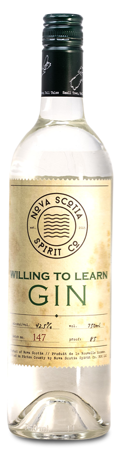Our Products: Willing to Learn Gin by Nova Scotia Spirit Co